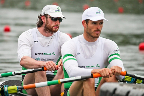 The Men's Double of Ronan Byrne and Philip Doyle finished first in their Heat in Lucerne