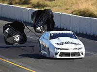 Jul 29, 2017; Sonoma, CA, USA; NHRA pro stock driver Bo Butner during qualifying for the Sonoma Nationals at Sonoma Raceway. Mandatory Credit: Mark J. Rebilas-USA TODAY Sports