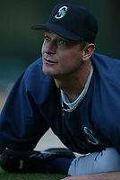 Jamie Moyers of the Seattle Mariners during a 2003 season MLB game at Angel Stadium in Anaheim, California. (Larry Goren/Four Seam Images)