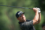 Graeme McDowell of Northern Ireland hits the ball during Hong Kong Open golf tournament at the Fanling golf course on 23 October 2015 in Hong Kong, China. Photo by Xaume Olleros / Power Sport Images