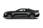Car Driver side profile view of a 2018 Chevrolet Camaro ZL1 2 Door Coupe Side View