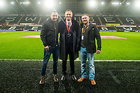 Match Ball Sponsors ahead of the Premier League match between Swansea City and Southampton at The Liberty Stadium, Swansea, Wales, UK. 31 January 2017