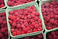 Raspberries at the Missoula, Montana farmers' market.