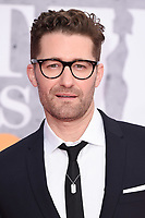 Matthew Morrison<br /> arriving for the BRIT Awards 2019 at the O2 Arena, London<br /> <br /> ©Ash Knotek  D3482  20/02/2019<br /> <br /> *images for editorial use only*