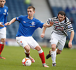 Robbie Crawford steps away from David Anderson