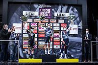 podium:<br /> <br /> 1st place - Elizabeth Deignan (GBR/Trek-Segafredo)<br /> 2nd place - Grace Brown (AUS/Mitchelton-Scott) <br /> 3th place - Ellen Van Dijk (NED/Trek-Segafredo)<br /> <br /> 4th Liège-Bastogne-Liège-Femmes 2020 (1.WWT)<br /> 1 Day Race: Bastogne – Liège 135km<br /> <br /> ©kramon