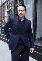 NEW YORK, NY - APRIL 5: Matthew Macfadyen seen at Build Series in New York City on April 5, 2018. <br /> CAP/MPI/RW<br /> ©RW/MPI/Capital Pictures