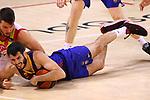 Liga ACB-ENDESA 2020/2021. Game: 26.<br /> FC Barcelona vs Casademont Zaragoza: 107-88.<br /> Jonathan Barreiro vs Alex Abrines.