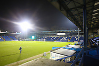 A general view of Gigg Lane, home of Bury FC ahead of during the The Checkatrade Trophy match between Bury and Fleetwood Town at Gigg Lane, Bury, England on 9 January 2018. Photo by Juel Miah/PRiME Media Images.