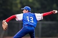 Baseball - 2009 European Championship Juniors (under 18 years old) - Bonn (Germany) - 08/08/2009 - Day 6 - Nelson Azirar (France)