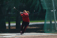 4 May 2008: Stanford Cardinal Jaynie Goodbody during Stanford's Payton Jordan Cardinal Invitational at Cobb Track & Angell Field in Stanford, CA.