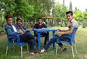 Iraq 2015<br />Kurdish teennagers in a park of Erbil  <br />Iraq 2015 <br />Adolescents dans un parc d'Erbil
