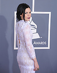 Skylar Grey attends The 54th Annual GRAMMY Awards held at The Staples Center in Los Angeles, California on February 12,2012                                                                               © 2012 DVS / Hollywood Press Agency