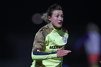 Ellen White of Manchester City during Arsenal Women vs Manchester City Women, FA Women's Continental League Cup Football at Meadow Park on 29th January 2020