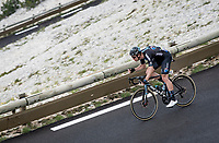 Jasha Sütterlin (DEU/DSM) coming down the Mont Ventoux<br /> <br /> Stage 11 from Sorgues to Malaucène (199km) running twice over the infamous Mont Ventoux<br /> 108th Tour de France 2021 (2.UWT)<br /> <br /> ©kramon