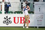 Brett Rumford of Australia tees off the first hole during the 58th UBS Hong Kong Golf Open as part of the European Tour on 08 December 2016, at the Hong Kong Golf Club, Fanling, Hong Kong, China. Photo by Marcio Rodrigo Machado / Power Sport Images