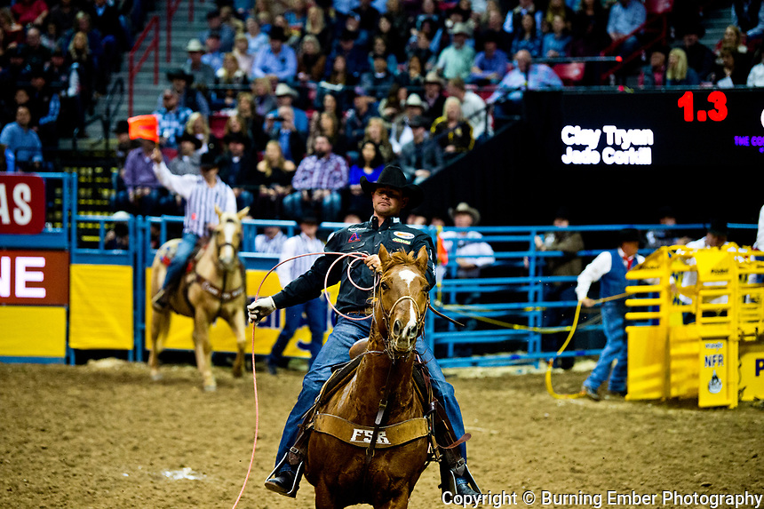 at the WNFR Round 2 event December 8 2017.  Photo by Josh Homer/Burning Ember Photography.  Photo credit must be given on all uses.