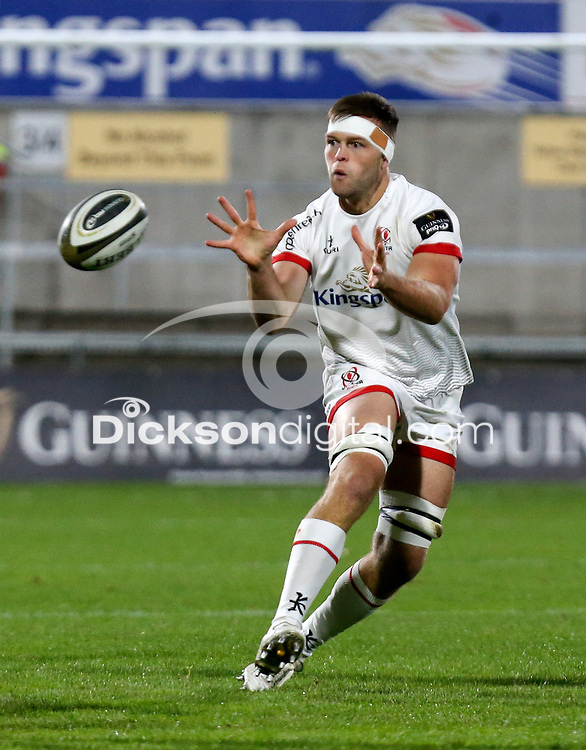 Friday 2nd October 2020 | Ulster Rugby vs Benetton Rugby<br /> <br /> David O'Connor on the attack during the PRO14 Round 1 clash between Ulster Rugby and Benetton Rugby at Kingspan Stadium, Ravenhill Park, Belfast, Northern Ireland. Photo by John Dickson / Dicksondigital