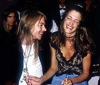 Axel Rose Stephanie Seymour 1991<br /> Photo by Adam Scull/PHOTOlink