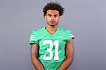 August 21, 2020: University of North Texas Mean Green Football for the 2020 season at Mean Green Apogee Stadium in Denton Texas