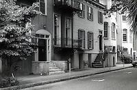 Savannah:  Row Houses.