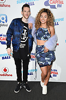 Sigala and Ella Eyre<br /> at the Capital Summertime Ball 2017, Wembley Stadium, London. <br /> <br /> <br /> ©Ash Knotek  D3278  10/06/2017