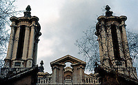 London: Thomas Archer's St. John Baroque Towers, 1714-28. Smith Square, Westminster.