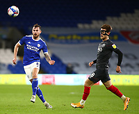 26th December 2020; Cardiff City Stadium, Cardiff, Glamorgan, Wales; English Football League Championship Football, Cardiff City versus Brentford; Joe Ralls of Cardiff City plays the high through ball