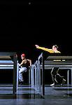 ONE FLAT THING REPRODUCED....Choregraphie : FORSYTHE William..Compagnie : Ballet de l Opera de Lyon..Decor : FORSYTHE William..Lumiere : FORSYTHE William..Costumes : FORSYTHE William MIYAKE Issey..Lieu : Theatre de la Ville..Ville : Paris..Le : 07 04 2009..© Laurent PAILLIER / www.photosdedanse.com..All rights reserved