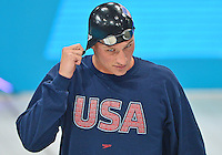 July 30, 2012..Ryan Lochte of USA arrives to compete in Men's 200m Freestyle Final at the Aquatics Center on day three of 2012 Olympic Games in London, United Kingdom.