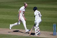 Paul Walter of Essex celebrates taking the wicket of Hanuma Vihari during Warwickshire CCC vs Essex CCC, LV Insurance County Championship Group 1 Cricket at Edgbaston Stadium on 25th April 2021