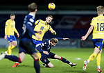 Ross County v St Johnstone…02.01.21   Global Energy Stadium     SPFL<br />Jamie McCart and Oli Shaw<br />Picture by Graeme Hart.<br />Copyright Perthshire Picture Agency<br />Tel: 01738 623350  Mobile: 07990 594431