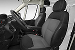 Front seat view of2017 Ram Promaster 1500 136 WB Low Roof 3 Door Cargo Van Front Seat car photos