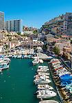 Picturesque little fishing port of Vallon des Auffes, Marseille, France