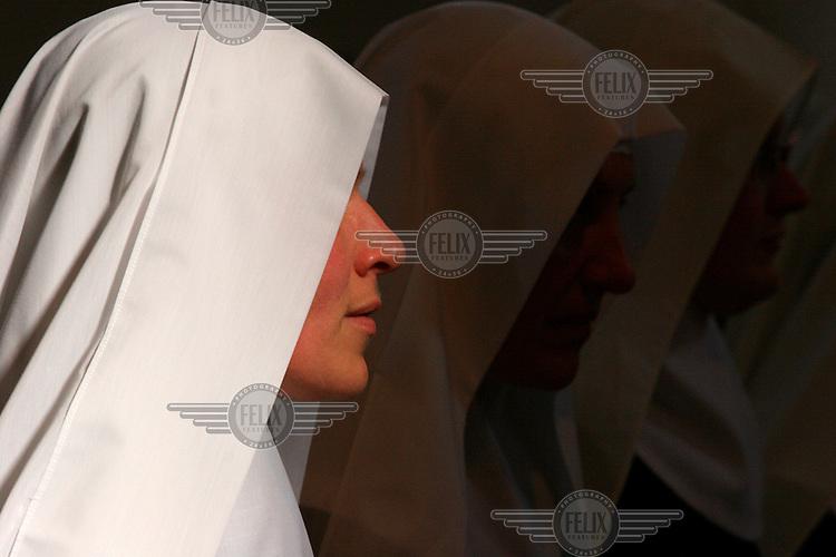 A nun in Cologne.