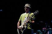 22/05/2006 Barbican Hall, London, England. Brazilian Mangue Beat band Nacao Zumbi; lead guitar.