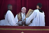 Pope Francis Urbi et Orbi Christmas Day of St. Peter's Basilica in Vatican ,25 December 2018