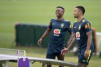 12th November 2020; Granja Comary, Teresopolis, Rio de Janeiro, Brazil; Qatar 2022 World Cup qualifiers; Vinicius Jr. of Brazil during training session