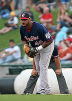 Pawtucket Red Sox Willy Mo Pena during an International League game at Frontier Field on July 4, 2006 in Rochester, New York.  (Mike Janes/Four Seam Images)