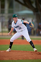 Travis Smith (26) during the WWBA World Championship at Lee County Player Development Complex on October 10, 2020 in Fort Myers, Florida.  Travis Smith, a resident of Walton, Kentucky who attends Walton-Verona High School, is committed to Kentucky.  (Mike Janes/Four Seam Images)