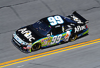 Feb 07, 2009; Daytona Beach, FL, USA; NASCAR Sprint Cup Series driver Carl Edwards during practice for the Daytona 500 at Daytona International Speedway. Mandatory Credit: Mark J. Rebilas-