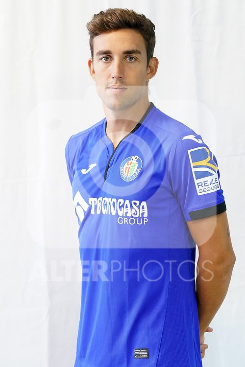 Getafe CF's Jaime Mata during official photo session. September 11, 2020. (ALTERPHOTOS/Acero)