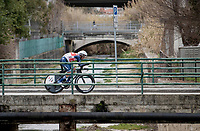 Vincenzo Nibali (ITA/Trek-Segafredo)<br /> <br /> Final stage 7 (ITT) from San Benedetto del Tronto to San Benedetto del Tronto (10.1km)<br /> <br /> 56th Tirreno-Adriatico 2021 (2.UWT) <br /> <br /> ©kramon