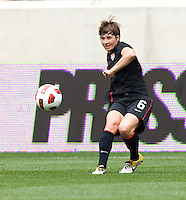Amy LePeilbet. The USWNT defeated Mexico, 1-0, during the game at Red Bull Arena in Harrison, NJ.