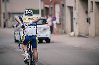 water carrier <br /> <br /> 58th De Brabantse Pijl 2018 (1.HC)<br /> 1 Day Race: Leuven - Overijse (BEL/202km)