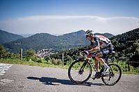 defending champion Bauke Mollema (NED/Trek-Segafredo) up the infamous Muro di Sormano (avg 17%/max 25%)<br /> <br /> 114th Il Lombardia 2020 (1.UWT)<br /> 1 day race from Bergamo to Como (ITA/231km) <br /> <br /> ©kramon
