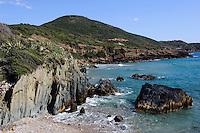 Golfo di Gonnesa bei Masua, Provinz Carbonia-Iglesias, Südwst Sardinien, Italien
