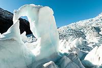 middle glacier   New Zealand
