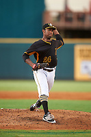 Bradenton Marauders starting pitcher Stephen Tarpley (24) during a game against the Fort Myers Miracle on August 3, 2016 at McKechnie Field in Bradenton, Florida.  Bradenton defeated Fort Myers 9-5.  (Mike Janes/Four Seam Images)