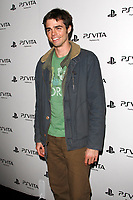 LOS ANGELES - FEB 15:  Reid Ewing at the Sony PlayStationAE Unveils PS VITA Portable Entertainment System at the Siren Studios on February 15, 2012 in Los Angeles, CA